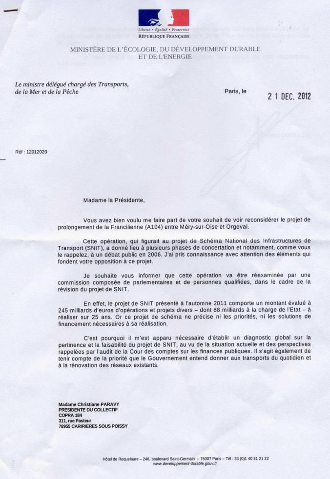 Réponse de CUVILLIER au COPRA 21Déc2012  format PDF