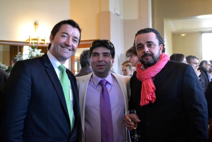 Karl Olive, Jean Pina et Richard Bertrand